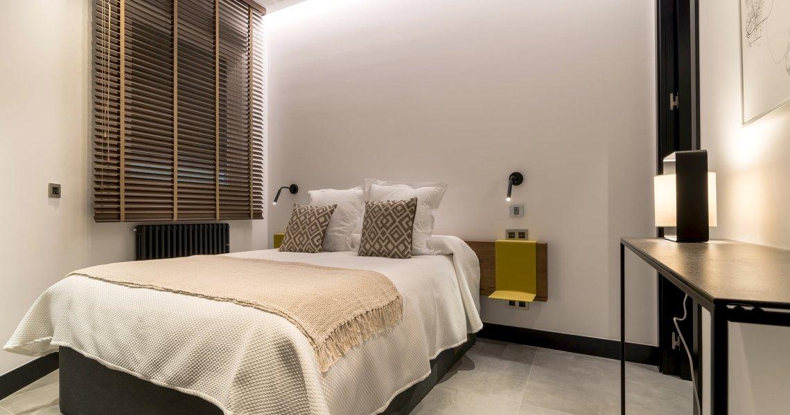 Habitación con decoración exclusiva