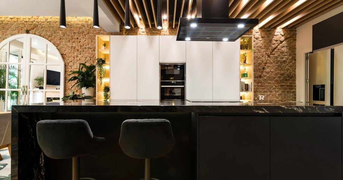 Espectacular Cocina Moderna con Isla