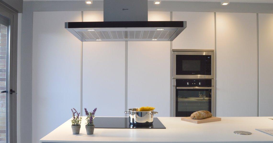 Elegancia en una cocina de estilo industrial