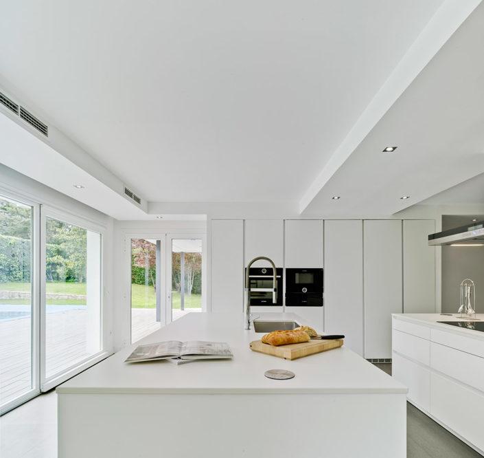Modelo Santos Line Laca Blanco | Cocinas mobiliario