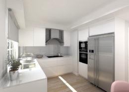 Una cocina con espiritu refinado - proyectos 3d