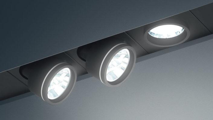 ARTEMIDE - Iuminación Caelum