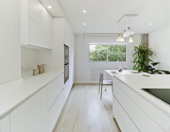 Muebles de cocina Santos, cocina blanca