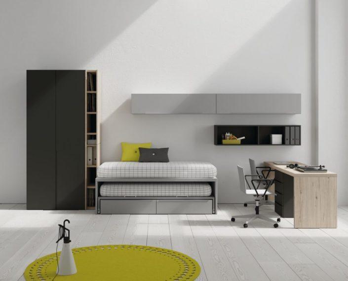 JJP_Dormitorio cama nido