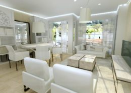 diseño interiores salón