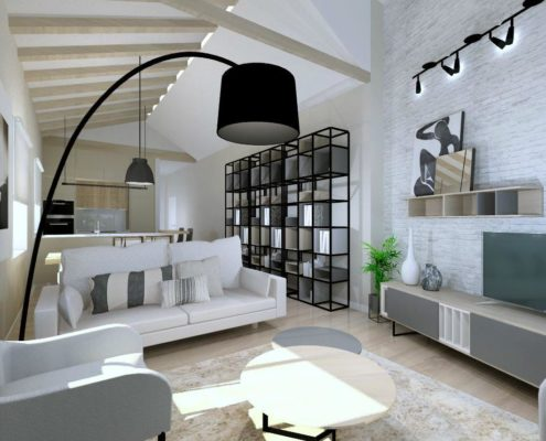 Proyecto de interiorismo 3D