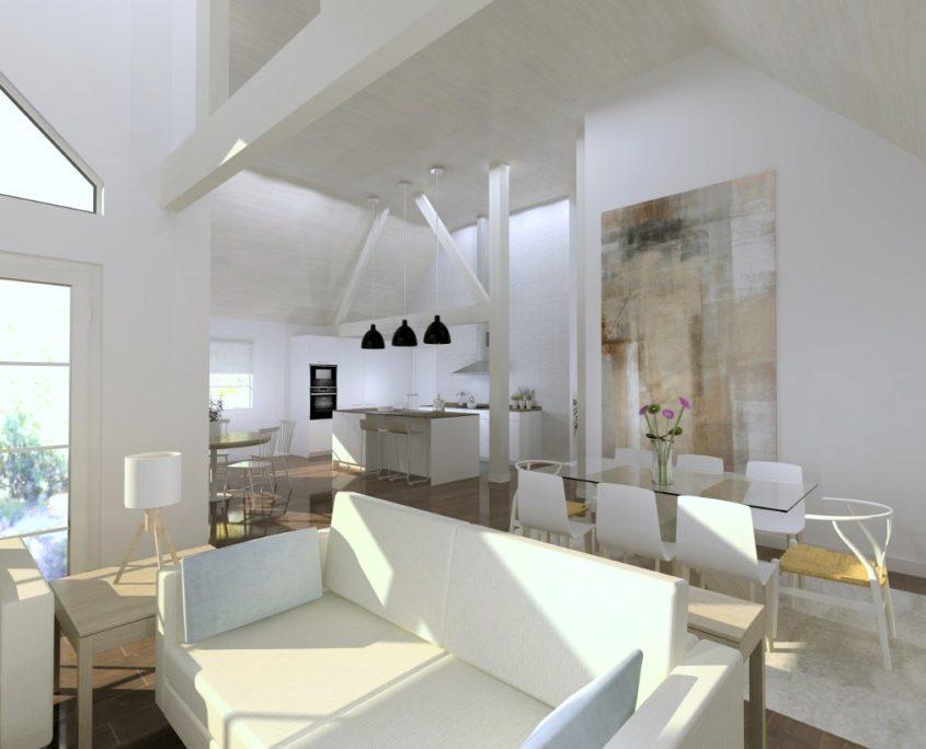 proyecto de interiorismo salón madrid