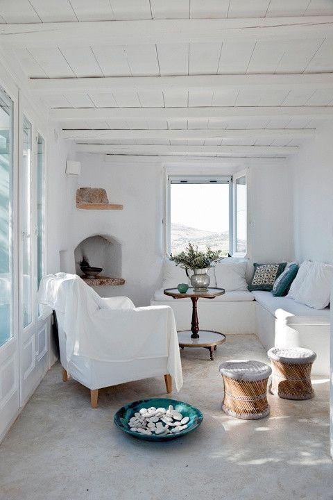 Estilo decoración mediterráneo salón