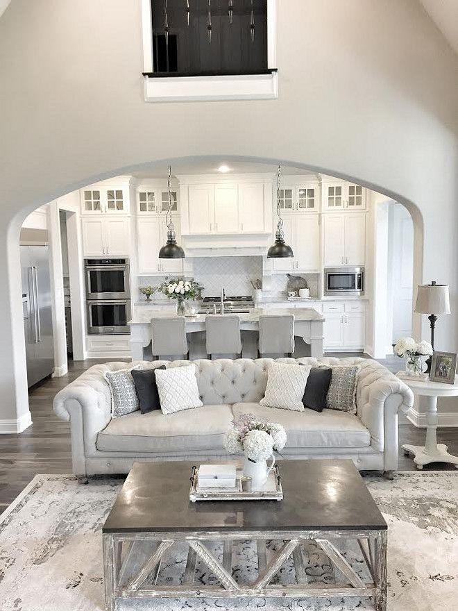 ambientes de un solo color en casa