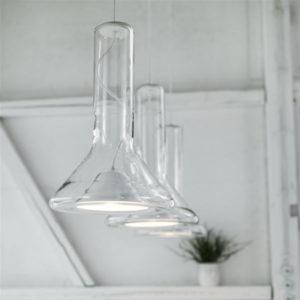 lámpara de cristal brokis