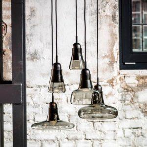 lámpara de cristal decoración brokis