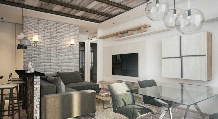 paredes rústicas proyectos de interiorismo
