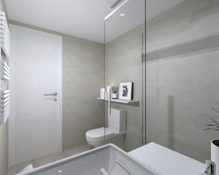 renovación baño proyecto 3d