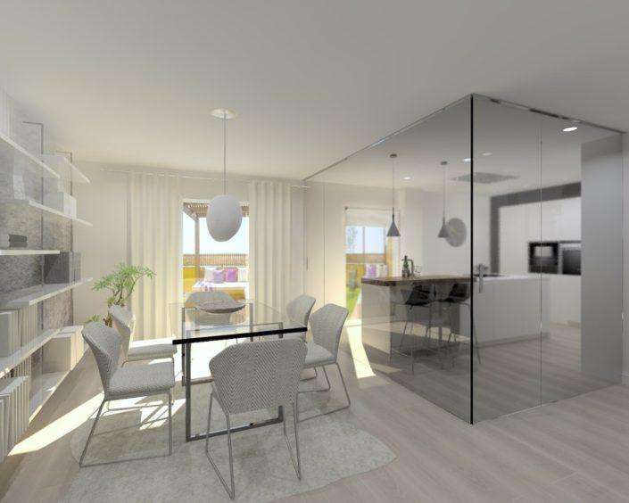 salón moderno proyecto