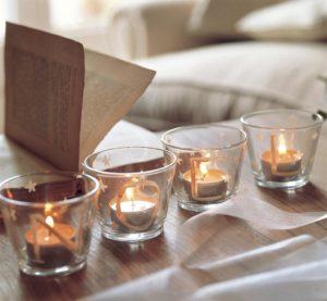 velas de cristal decora tu hogar