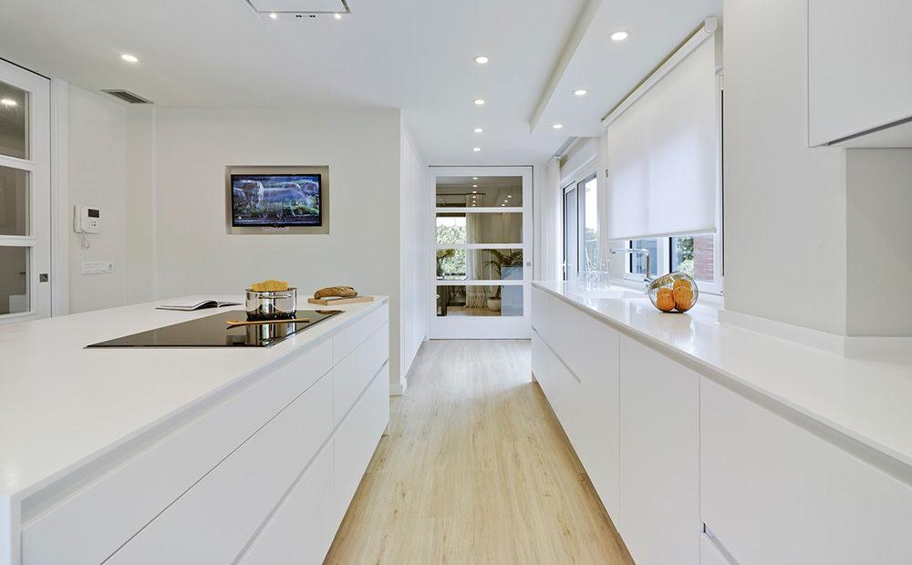 Muebles de cocina moderna