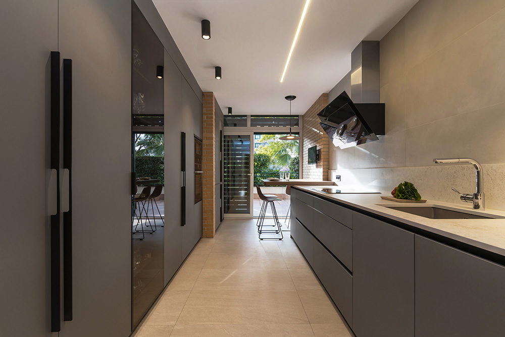Cocina Santos gris en Madrid