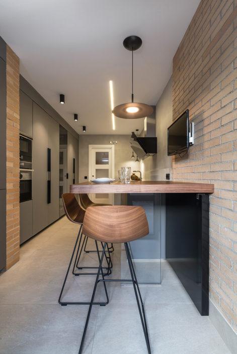 Cocina rústica de diseño