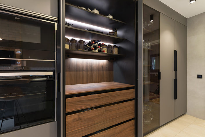 Mobiliario de cocina Santos Gris
